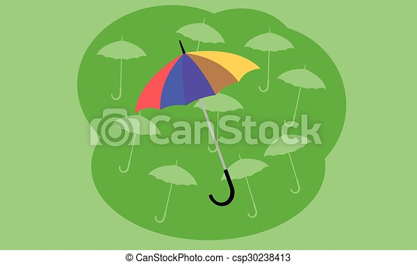 parapluie - csp30238413
