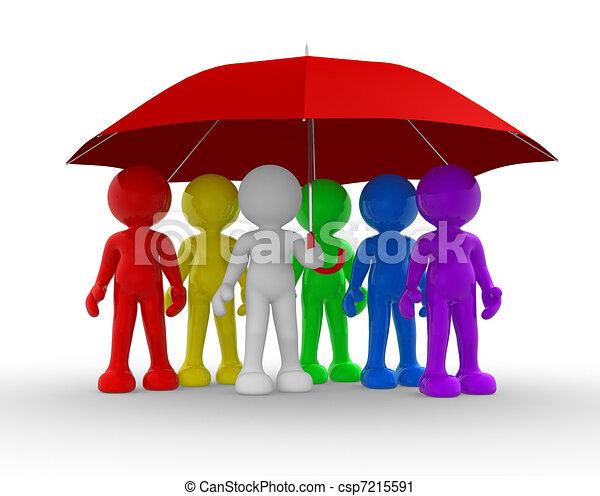 parapluie - csp7215591