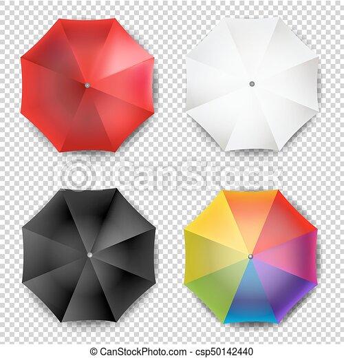 parapluie, coloré - csp50142440