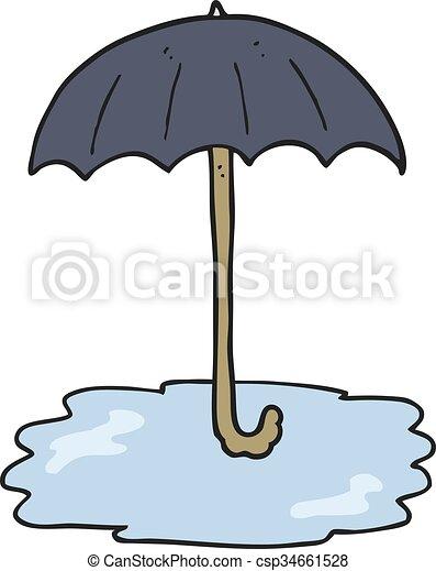 Freehand dessin parapluie dessin anim mouill - Parapluie dessin ...