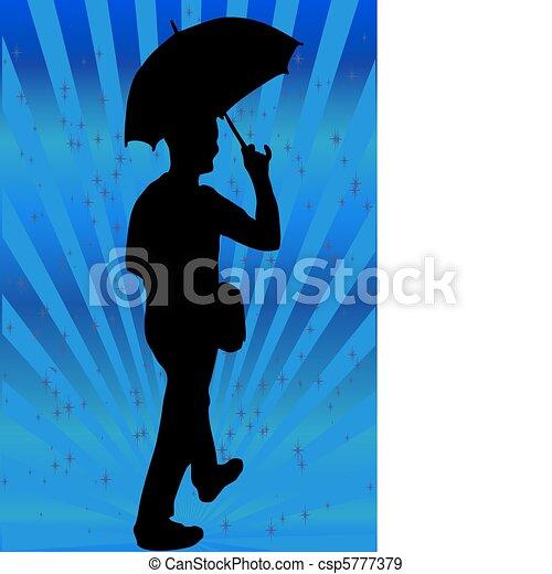 parapluie - csp5777379