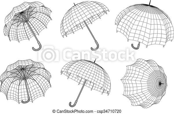 parapluie - csp34710720