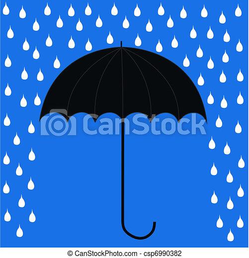 parapluie - csp6990382