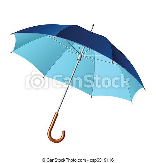 parapluie, ouvert - csp6319116