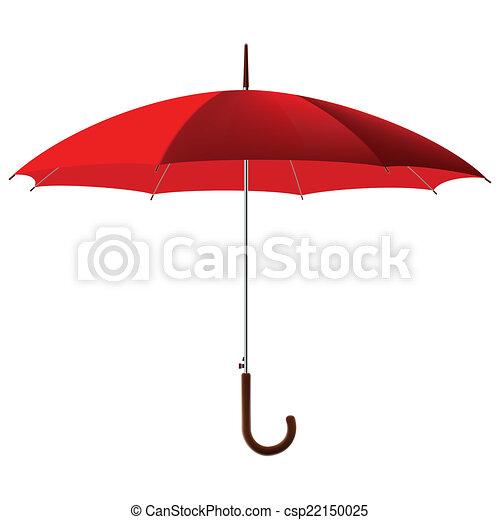 parapluie, rouges - csp22150025