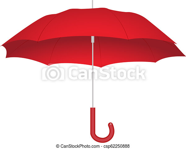 parapluie, rouges - csp62250888