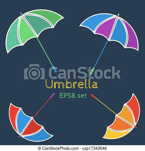 parapluie - csp17343046