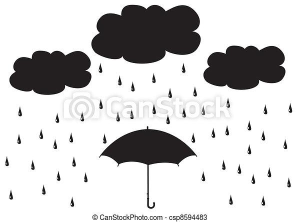 parapluie - csp8594483
