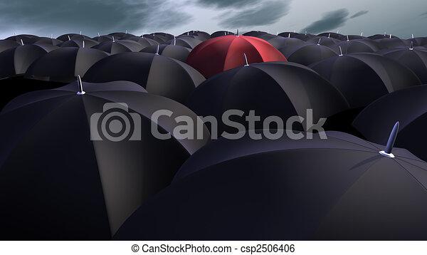 parapluies - csp2506406