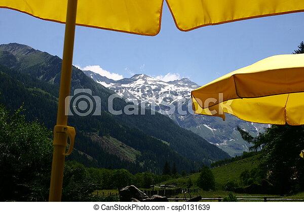 Parasol amarillo - csp0131639
