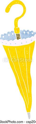 parasol, dessin animé - csp20476571