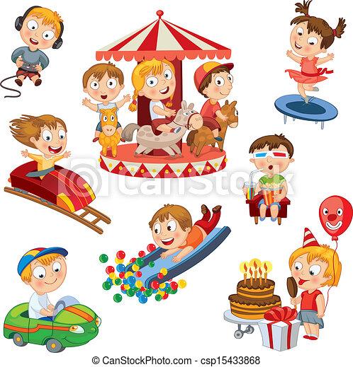 parc, amusement - csp15433868
