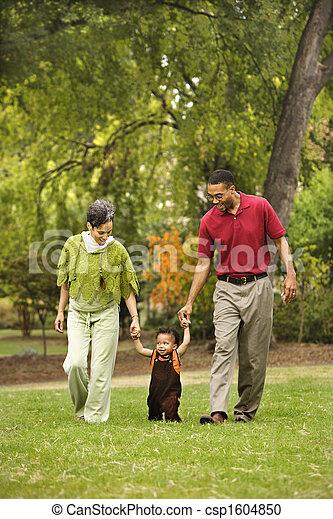 parc, famille - csp1604850
