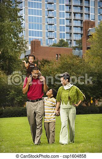 parc, famille - csp1604858