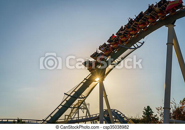 parchi divertimento - csp35038982