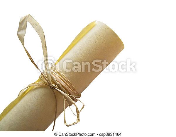 parchment. - csp3931464