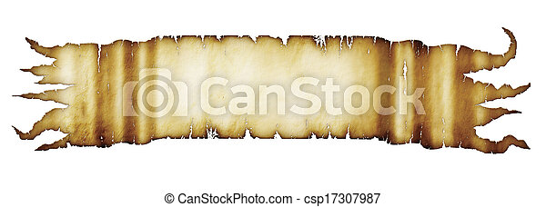 Parchment Banner - csp17307987