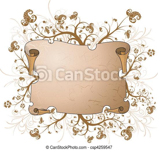 Parchment - csp4259547
