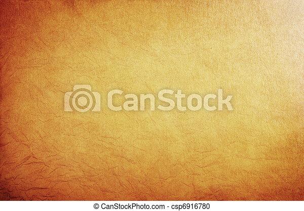 parchment., oud - csp6916780