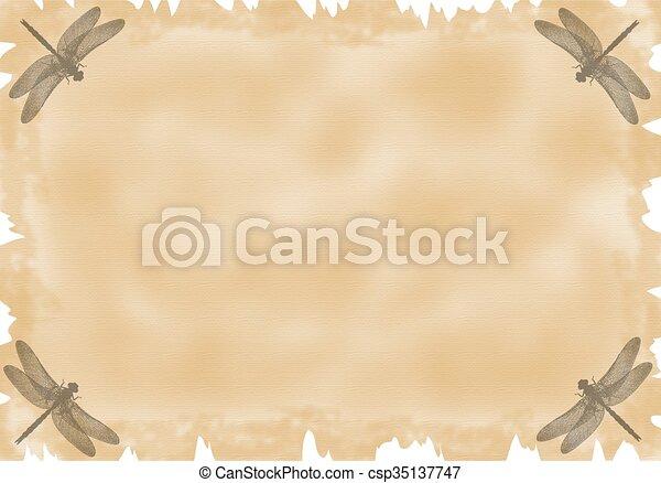 Parchment Paper - csp35137747