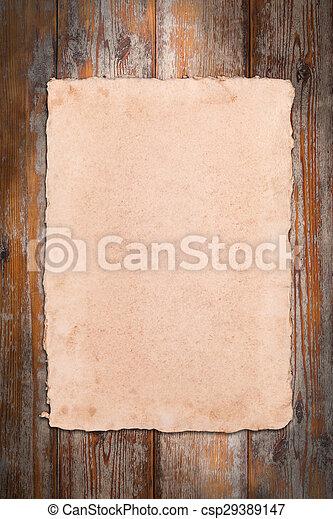 Parchment - csp29389147