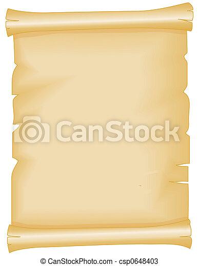 Parchment - csp0648403