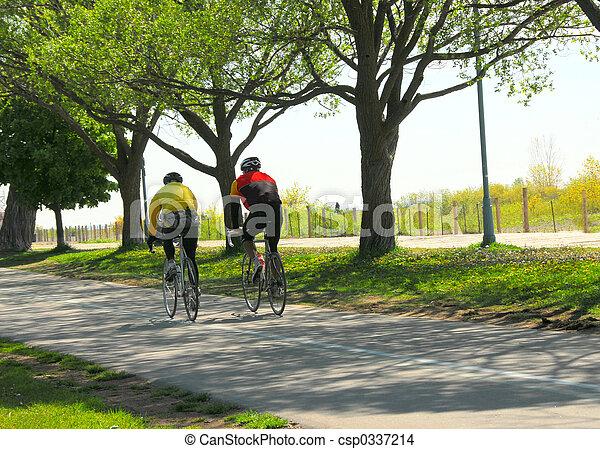 parco, bicycling - csp0337214