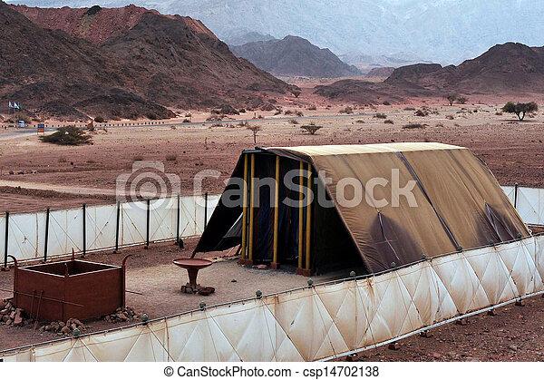 parco, -, modello, timna, tabernacolo - csp14702138