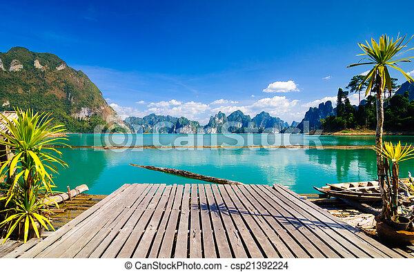 parco, sok, khao, nazionale, tailandia - csp21392224