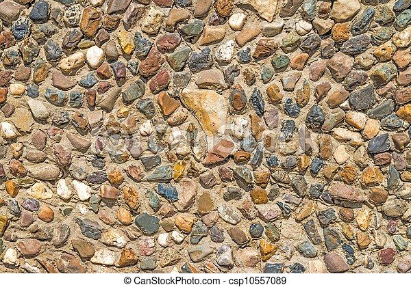 La pared de Masonería - csp10557089