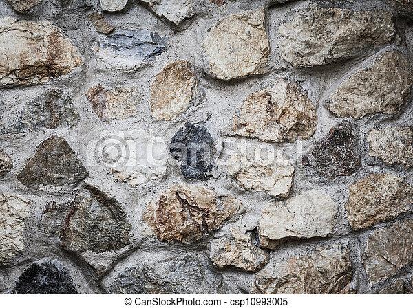 La pared del rock masónico - csp10993005