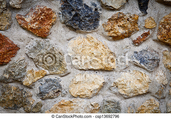 La pared del rock masónico - csp13692796