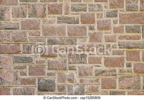 El muro de masas rojos - csp15285809