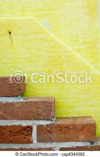 Aislante térmico de una pared - csp4344362