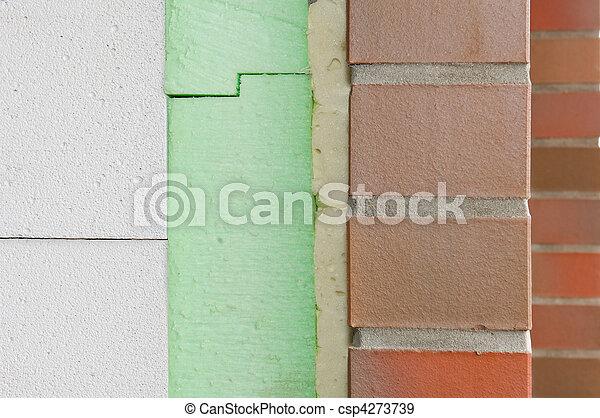 Aislamiento térmico de una pared - csp4273739