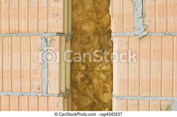Aislante térmico de una pared - csp4343237
