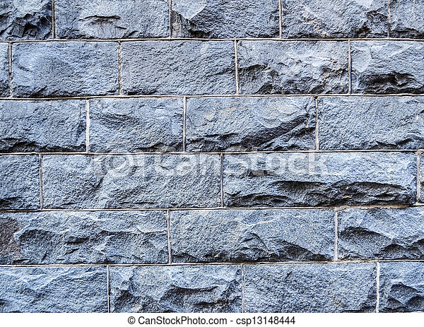 La pared de piedra - csp13148444