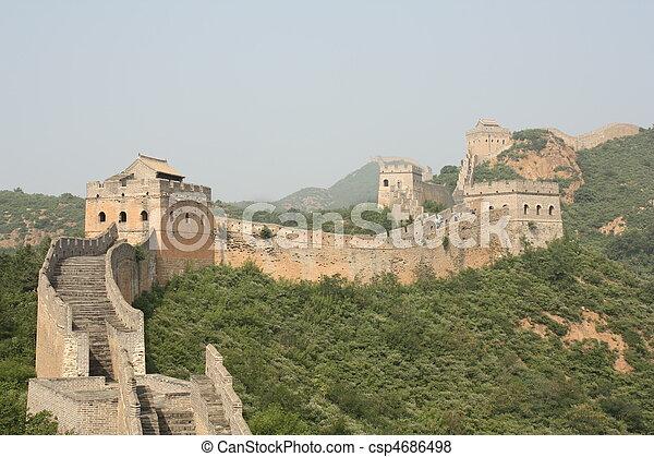 La gran muralla china - csp4686498