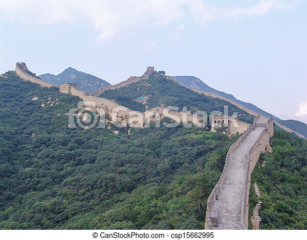 Una gran muralla china - csp15662995