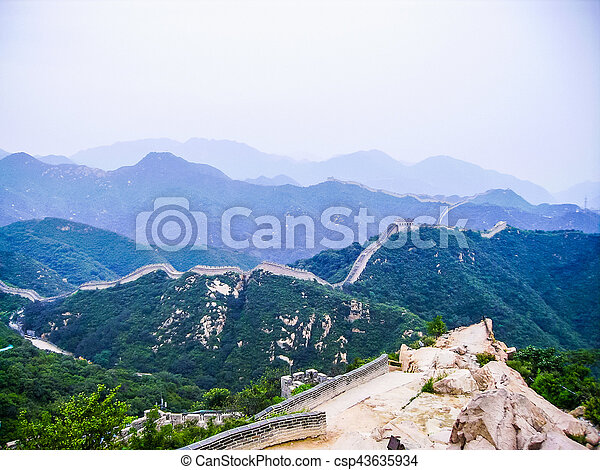 HDR China Great Wall - csp43635934