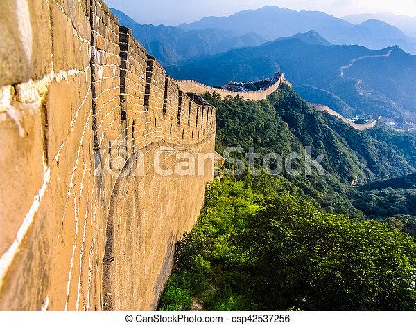 HDR China Great Wall - csp42537256