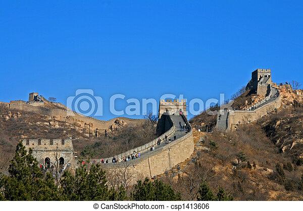 Gran muro - csp1413606
