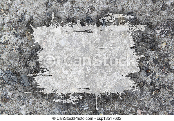 Textura de pared de hormigón gris - csp13517602