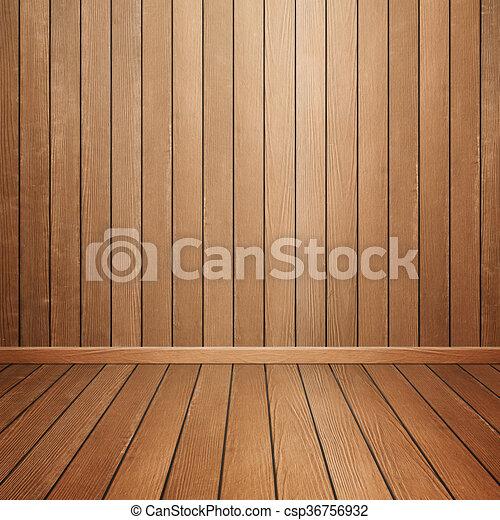 Pared Interior Madera Habitacion Piso Habitacion Piso Pared - Pared-de-madera