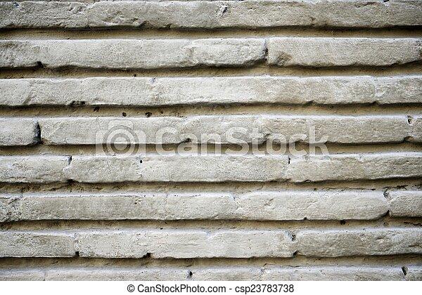 La pared de ladrillos - csp23783738