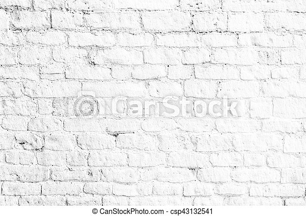 Pared Ladrillo Blanco Plano De Fondo Pared Textura O Plano De - Pared-ladrillo-blanco
