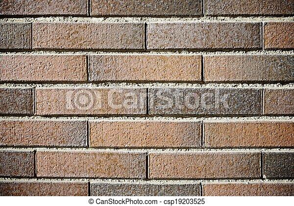 La pared de ladrillos - csp19203525