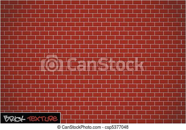 textura de pared de ladrillo - csp5377048