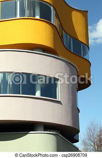 pared, países bajos, house. - csp26908709