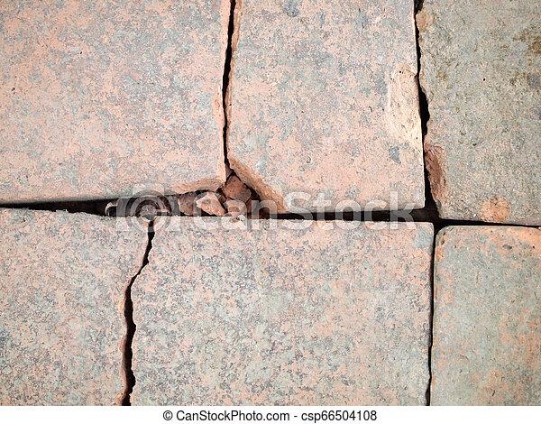 Muro de piedra - csp66504108